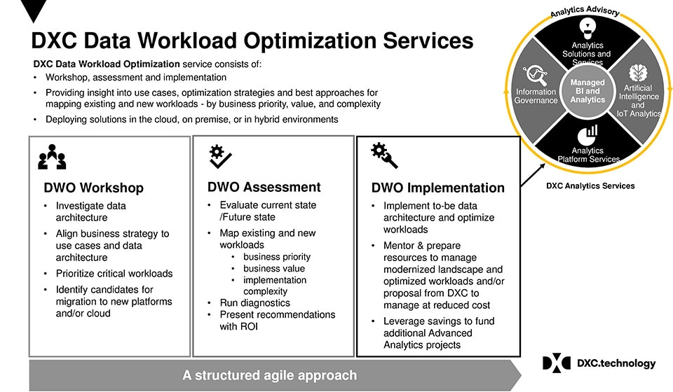 DXT Data Workload Optimization Services